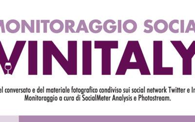 Monitoraggio social di #vinitaly2017